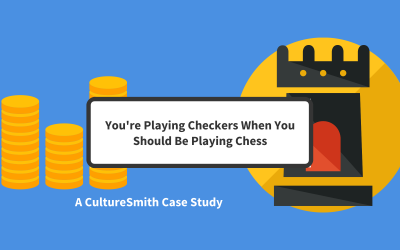 You're Playing Checkers When You Should Be Playing Chess