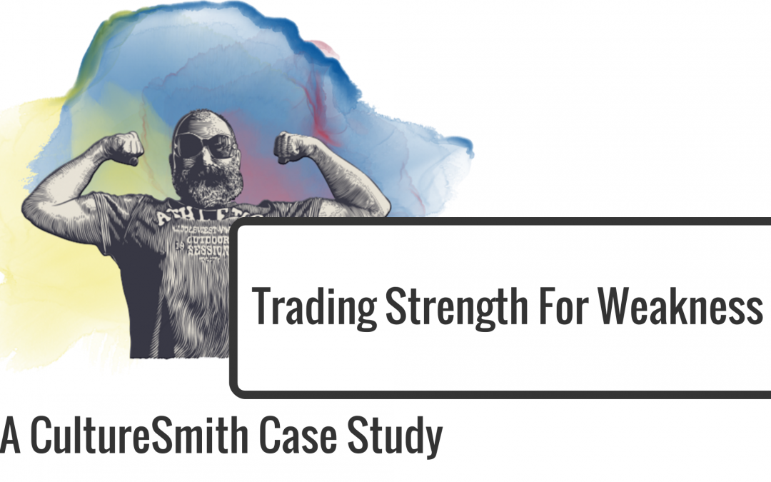 Trading Strength For Weakness